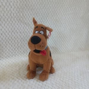 "TY Beanie Babies SCOOBY-DOO DOG 10-11"" Plush"